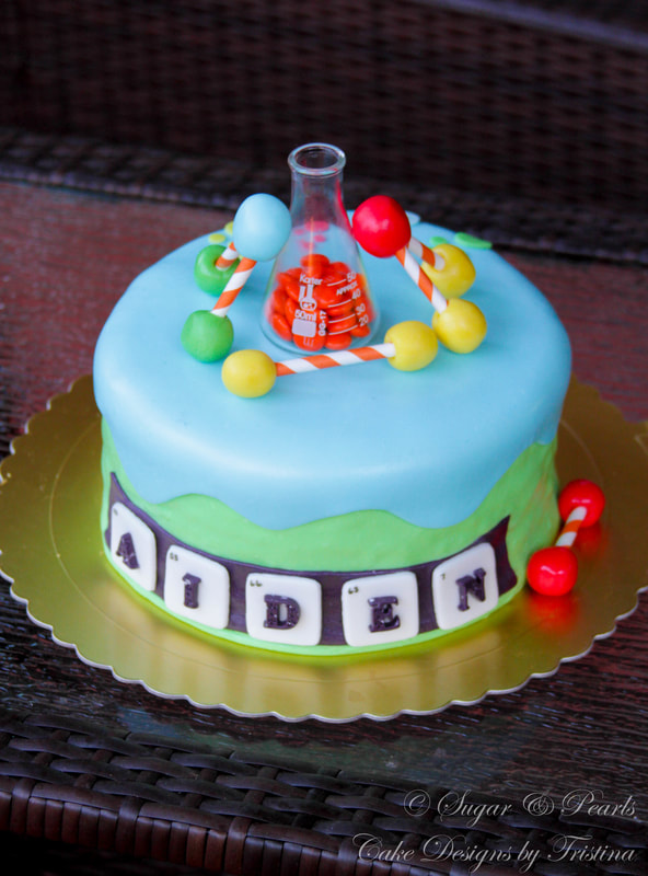 Incredible Science Themed Cake Making Life A Little Sweeter Funny Birthday Cards Online Elaedamsfinfo